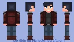 Terry McGinnis [Batman Beyond] Minecraft Skin