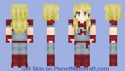 Super Boring Girl Minecraft