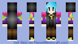 "BigBang Top ""Fantastic Baby"" Inspired Minecraft Skin"