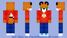 Tug Chibi Minecraft Skin