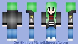 """Seventeen Wonwoo """"Boom Boom"""" Inspired Minecraft Skin"""