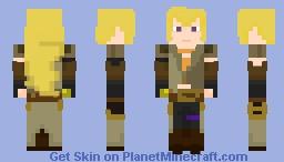 RWBY - Yang Xiao Long Minecraft Skin