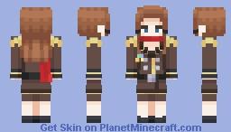 Lana Skye Minecraft Skin