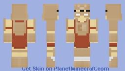 The Cardboard Samurai Minecraft Skin