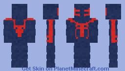 Spiderman | 2099 | Miguel o' hara Minecraft Skin