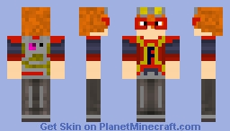 Fart Boy ~ (Not So) Superheros Contest Entry Minecraft Skin