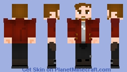StarLord (Peter Quill) - Guardians of the Galaxy 2 Minecraft Skin