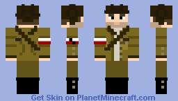 """Gustaw """"Gustlik"""" Jeleń Minecraft Skin"""