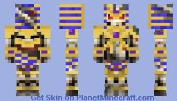 Undead Ishtari Knight Minecraft Skin