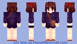 【Kiki's Delivery Service】 Minecraft Skin