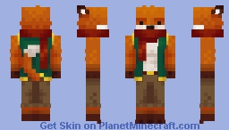Kai, the Fox Minecraft