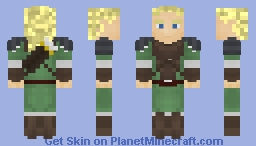 Legolas - Requested by Herobrine3847293 Minecraft Skin