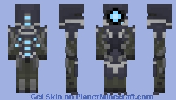 Geth Trooper (Mass Effect) Minecraft Skin