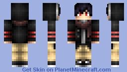 red eye Minecraft Skin