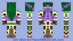 Night Elf Druid Minecraft Skin