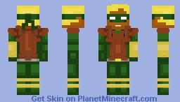 Connor Hawke Minecraft Skin