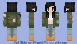 gender neutral minecraft skin