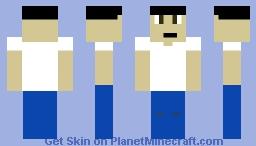 Bowl Cut Man Minecraft Skin