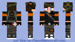 Military/Resistance kid Minecraft