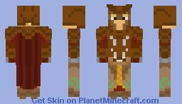 Wood-Elf Warrior Minecraft Skin
