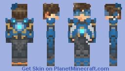Overwatch - Cadet Oxton Minecraft Skin