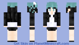 Lady (I don't want this kind of hero) Request Minecraft Skin