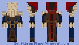 Spiral Knight-Dusker Minecraft Skin