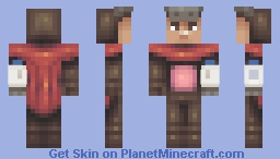 Milkman (Not So Superhero Contest) Minecraft Skin