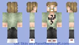 Danny Rand (Iron Fist) Minecraft Skin
