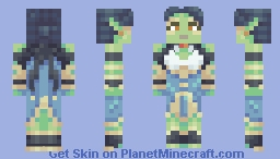 Ms. Jewels (Not So Superhero Contest) Minecraft Skin