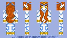 Divinity - Alex model Minecraft Skin