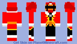 Power Rangers Galaxy Pirates - Red Ranger Minecraft Skin