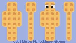 Human waffle Minecraft Skin