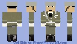 Nationale Volksarmee (German Democratic Republic) Skin Minecraft Skin