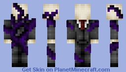 Slenderman (With tentacles in description) Minecraft