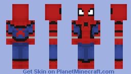 Spider-Man MCU Minecraft Skin