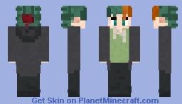 multi-coloured-hair Minecraft Skin