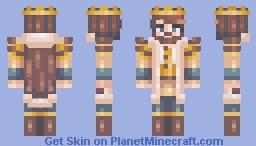 Golden King Minecraft