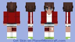 Aoi Asahina - Danganronpa Minecraft Skin
