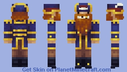 Cap'n Beard Minecraft