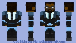 Black lightning | cw Minecraft Skin