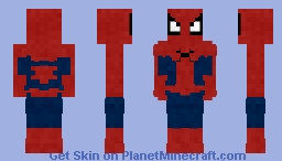 Spiderman | original Minecraft Skin