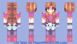 Echotale Frisk - Other Version in Description + Older Version Minecraft Skin