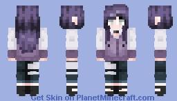 Hinata Hyuga Minecraft Skin