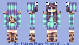 cookie monsta om nom nom Minecraft Skin
