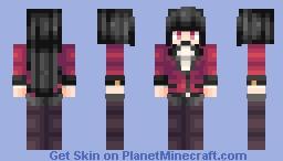 Jabami Yumeko - Kakegurui Minecraft Skin