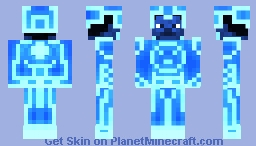 TRON (1982) _updated_2 Minecraft Skin