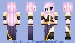 Luka Megurine Minecraft Skin