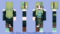 Matcha // 20 KITTEHS SUBBED WOOO Minecraft Skin