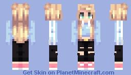 new hair shading?? Minecraft Skin